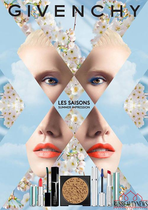 Givenchy Gypsophila Les Saisons Summer 2017 Collection look