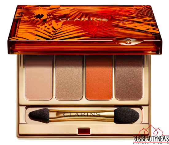 Clarins Summer Bronze Makeup Collection 2017 eyeshadow