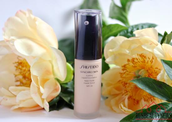 Shiseido Synchro Skin Lasting Liquid Foundation отзыв