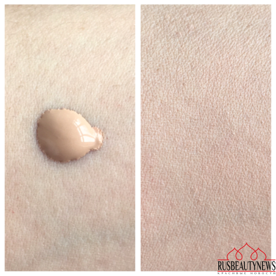 Shiseido Synchro Skin Lasting Liquid Foundation swatch